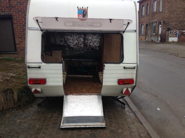 Modification caravane pour transport moto Photo_12