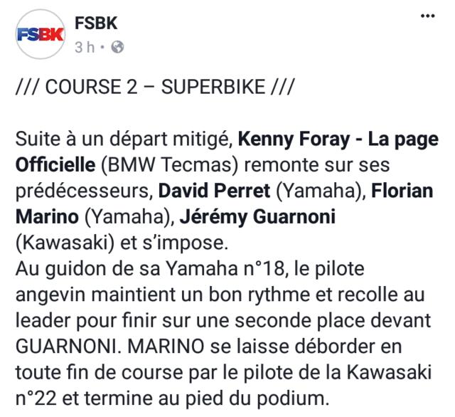 Florian Marino gagne en FSBK à MagnyCours(course1) Screen14