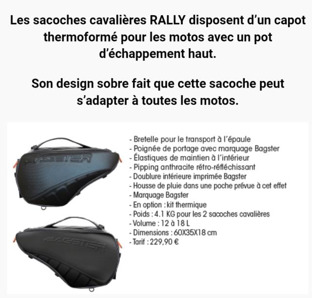 Les sacoches cavalières spéciales sportives... BAGSTER et autres ! Screen17