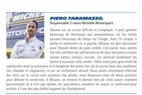Misano... Motogp...la Racecard : infos ici Screen46