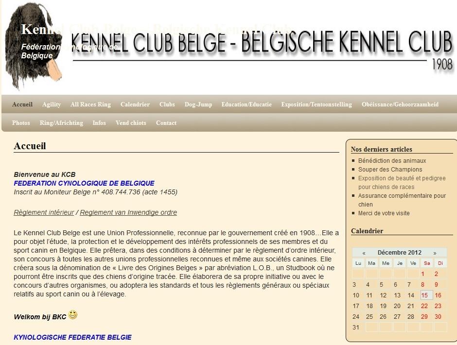 la FCI belge. Kennel10