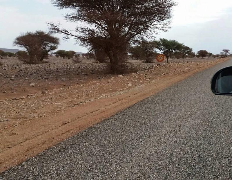 [Maroc Camp/Dernières nouvelles]  L'accès au camp Serdrar en cours d'etre goudronné Oasis10