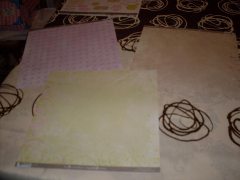 Mon matériel de scrap 20100113