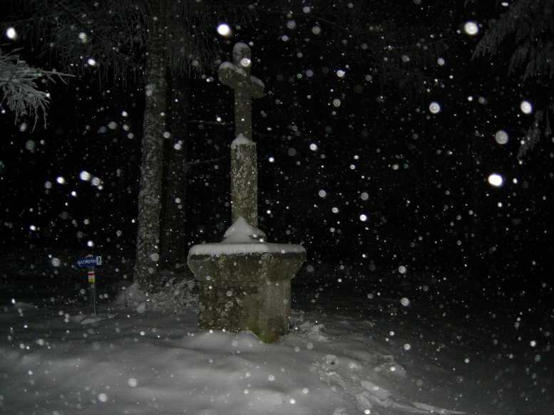 """Courche nocturne """"neige et papillottes"""". Dscn8915"""