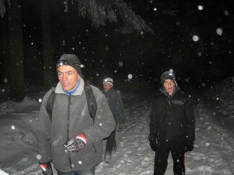 """Courche nocturne """"neige et papillottes"""". Dscn8916"""