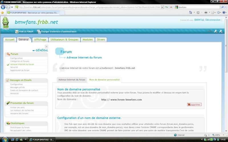 Forcer la redirection des URL 110