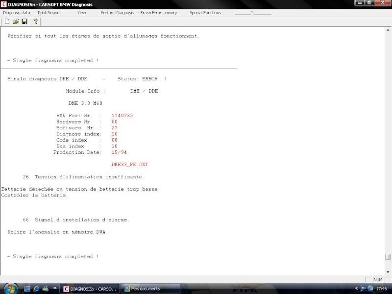 [BMW 730 i E38] Problème de démarrage - Page 5 Erreur11
