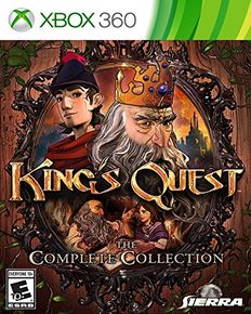 [Dossier] Les jeux d'aventure & point and click sur console (version boite) King-s10