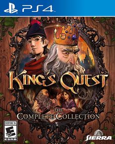 [Dossier] Les jeux d'aventure & point and click sur console (version boite) King-s11