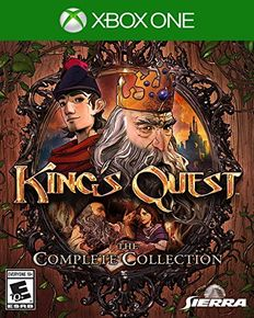 [Dossier] Les jeux d'aventure & point and click sur console (version boite) King-s12
