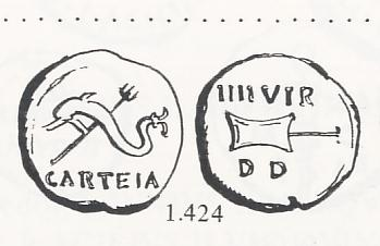 Cuadrante de Carteia (r: timón) [WM n° 8614] Cartei11