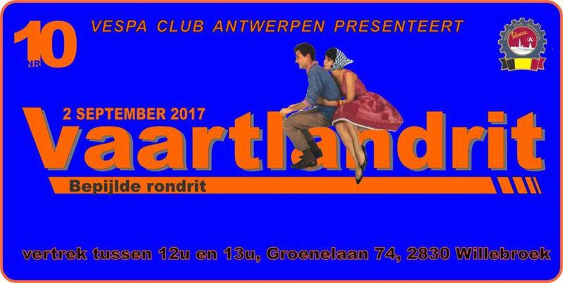 VC ANTWERPEN 02/08/2017 Vaartl11