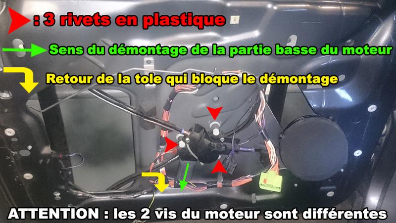 [TUTO S4] DÉMONTER LES RIVETS PLASTIQUES LÈVE VITRE SANS LES CASSER   Img0110