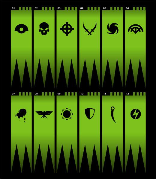 Council chart design Flagsi10