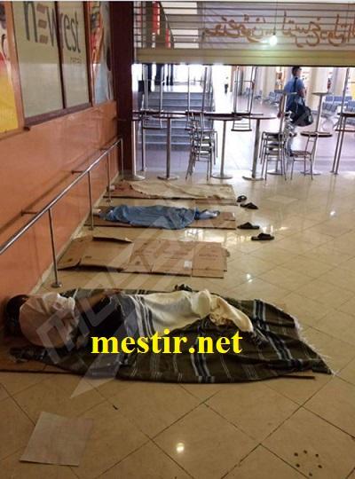 Aéroport de Monastir: Sit-in des employés de Newrest Catering (Photos) Aerop10