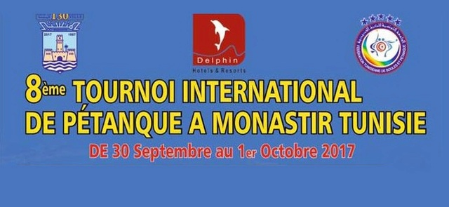 Monastir abrite le 8e édition du tournoi international de pétanque Tourno10