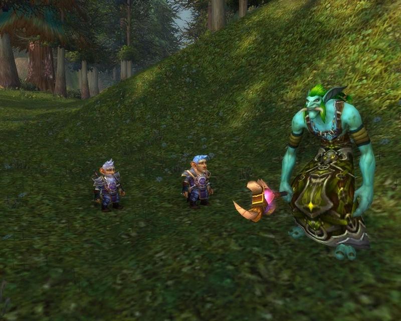 Pérégrinations de deux gnomes en Azeroth (TOME 1) - Page 2 11046410