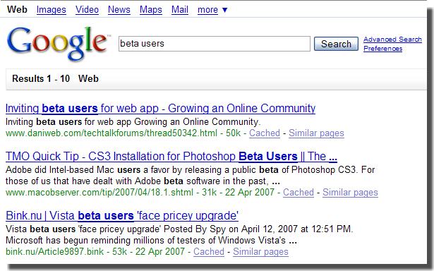 Bêta users, la communauté des betas. - Portail Interf10