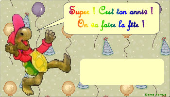 Les tortues. - Page 2 Anniv210