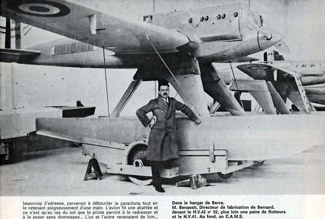 Avions Bernard Fana-b10
