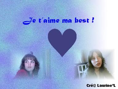 Cré@ pour ma best Laurin10