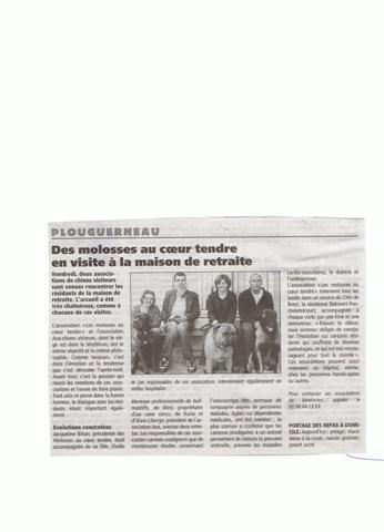 Article sur notre visite à PLOUGUERNEAU Plougu10