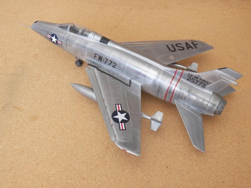 North American F-100A, première série. F-100a16