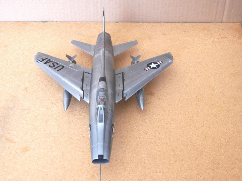 North American F-100A, première série. F-100a21