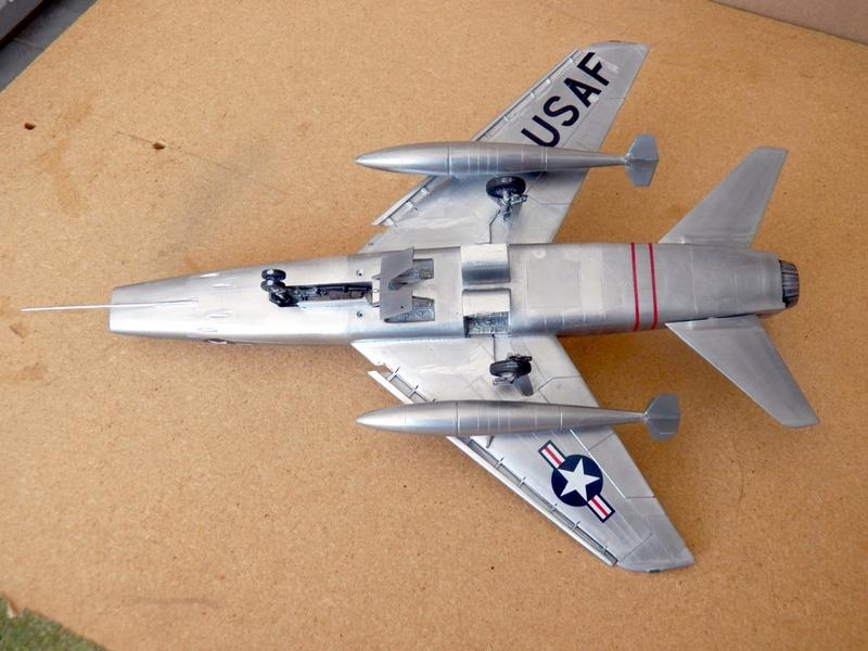 North American F-100A, première série. F-100a24
