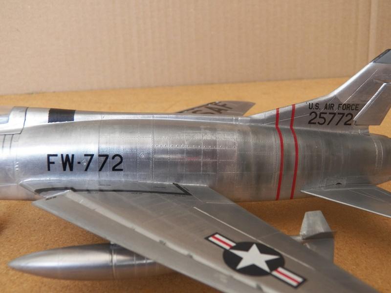 North American F-100A, première série. F-100a25