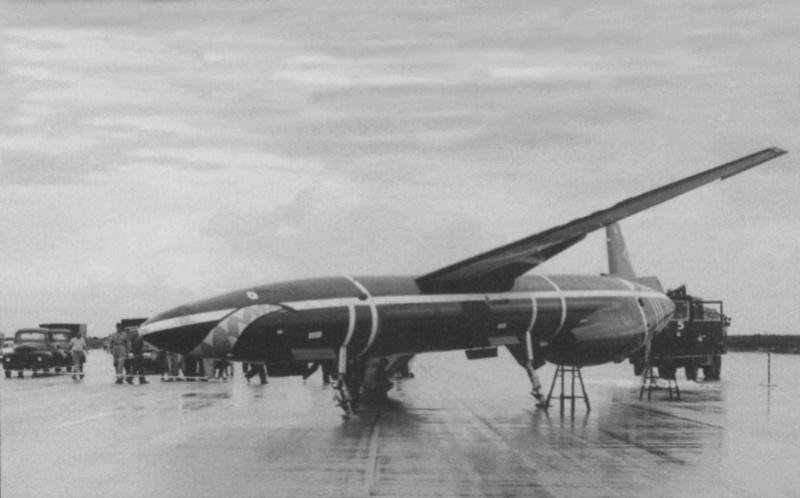 Northrop SM-62A Snark, Lindberg, 1/48. Northr11