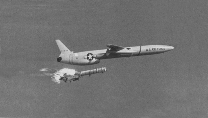 Northrop SM-62A Snark, Lindberg, 1/48. Northr14