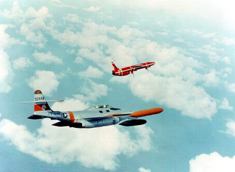 Northrop SM-62A Snark, Lindberg, 1/48. Northr16