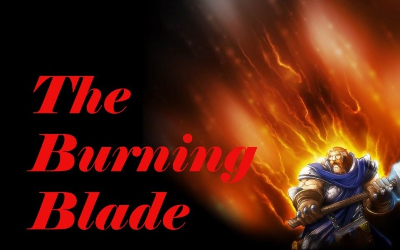 The Burning Blade