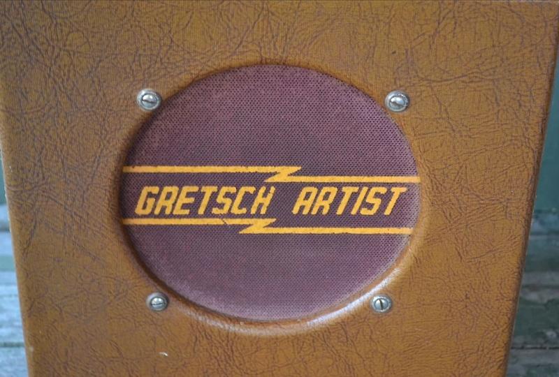 """40′s Gretsch """"Artist"""" Tube Amp 0410"""
