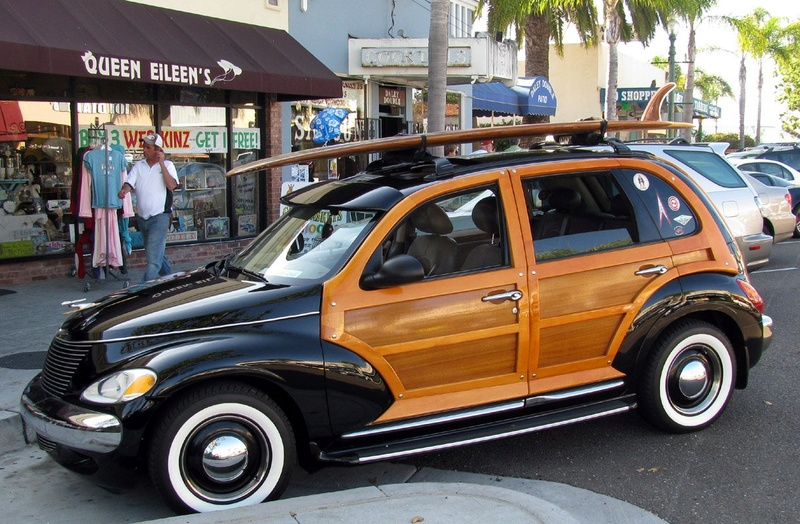 Les Woody's Surf car 0610