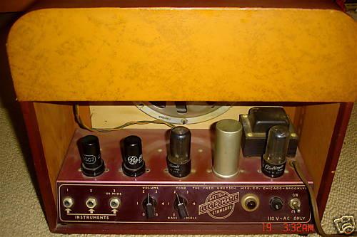 GRETSCH 6151 ELECTROMATIC STANDARD AMPLIFIER 1950. 29024011