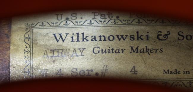 W. Wilkanowski  & gretsch.(Violin and guitar) 4172_015