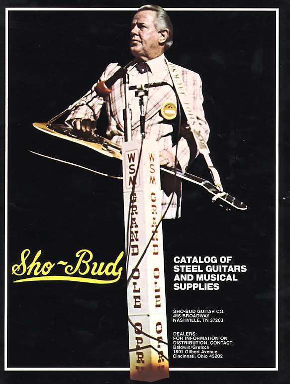 gretsch ...Sho-Bud pédal steel Cover10