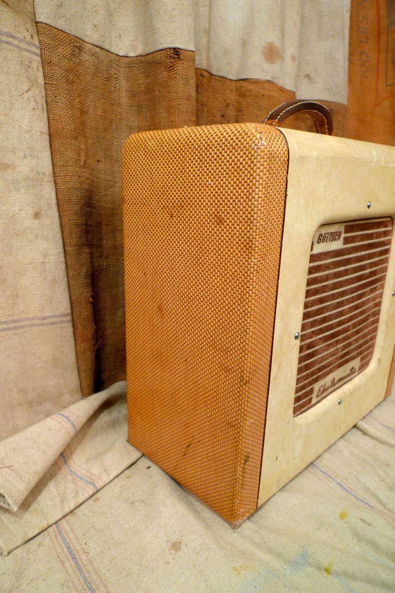 1956 Gretsch Electromatic Tube Amp Cowboy style. Kgrhqn15