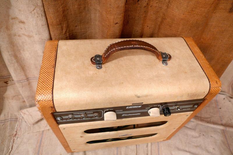 1956 Gretsch Electromatic Tube Amp Cowboy style. Kgrhqz19