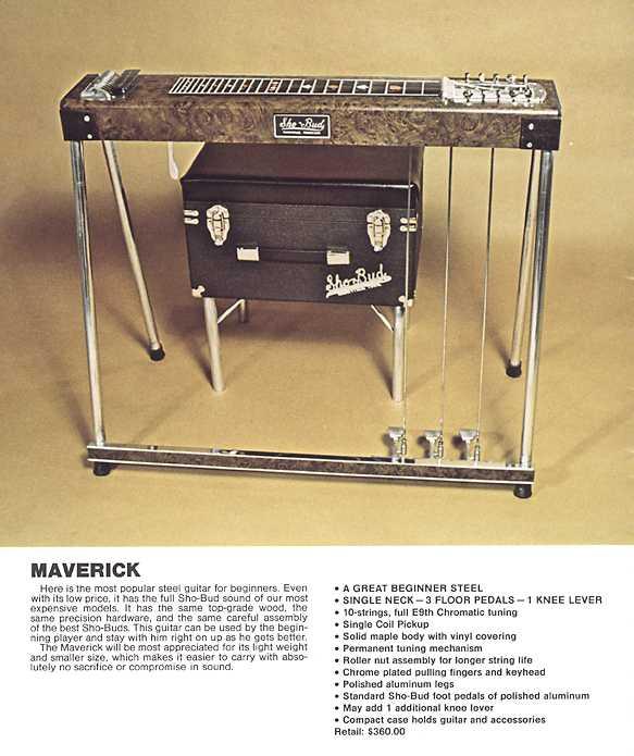gretsch ...Sho-Bud pédal steel Maveri10
