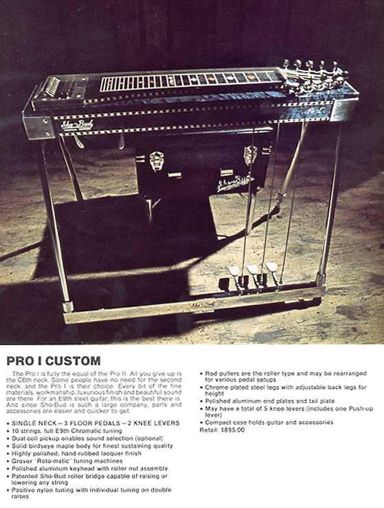 gretsch ...Sho-Bud pédal steel Pro1cu12