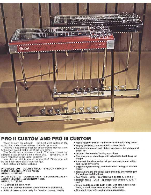 gretsch ...Sho-Bud pédal steel Pro2_310