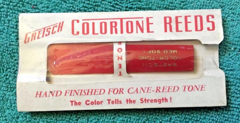 Gretsch Colortone Tenor Sax Reed - Medium Soft S-l16023