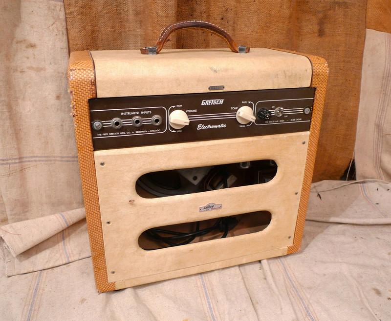 1956 Gretsch Electromatic Tube Amp Cowboy style. T2ec1626