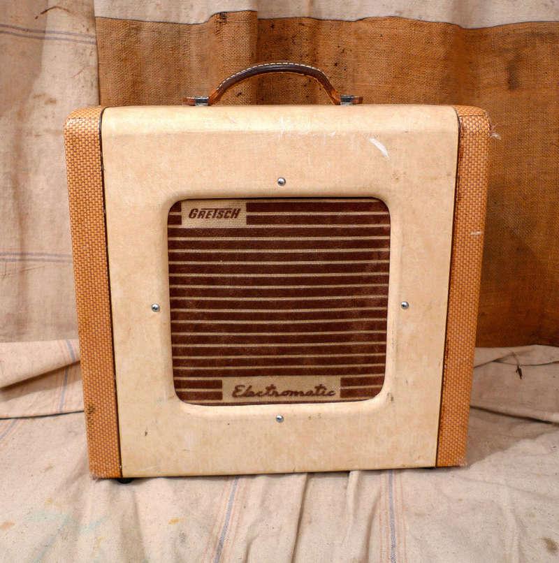 1956 Gretsch Electromatic Tube Amp Cowboy style. T2ec1627