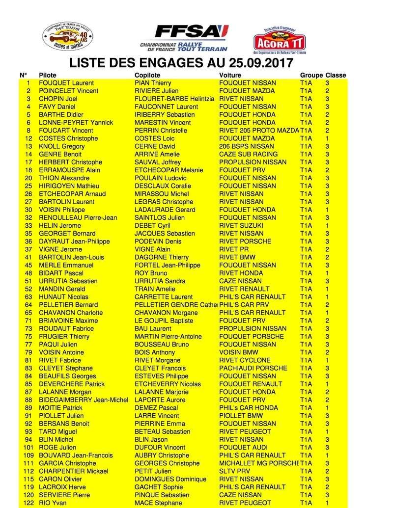 40ème D&M - les news - Page 2 Liste_20