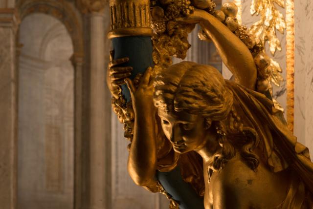 Le petit théâtre de Marie-Antoinette, Versailles Tdr010