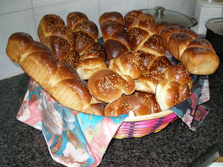 HALA DE SHABAT(samedi juif) ET PETITS PAINS Pa010010